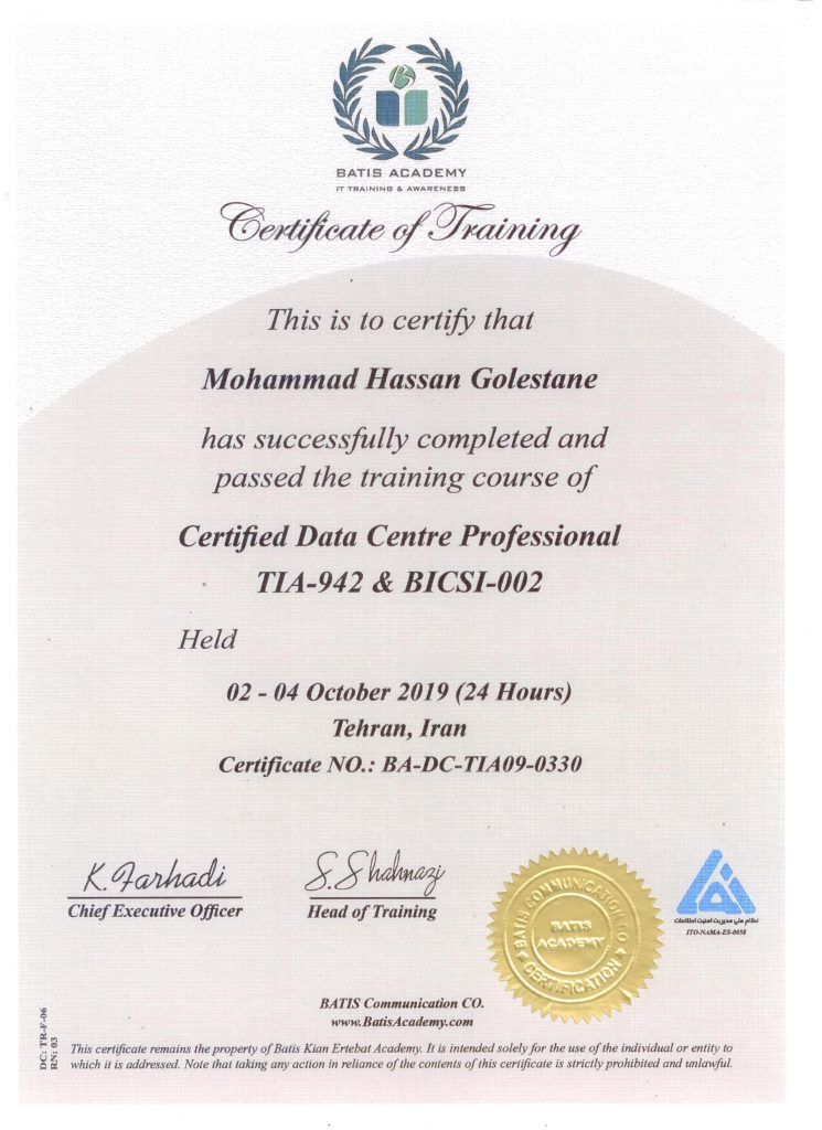 Data-Center-Professional-Batis-Academy